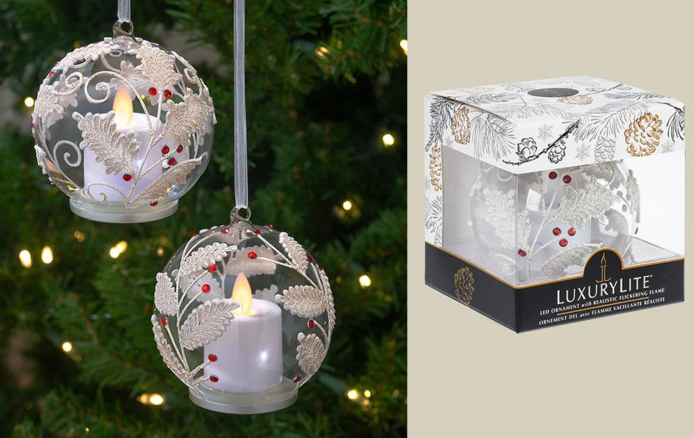 Led Candle Ornamentss Luxurylite Led Candles